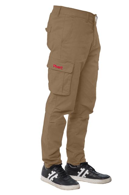 Pantaloni Cargo Cimone Beige Scuro