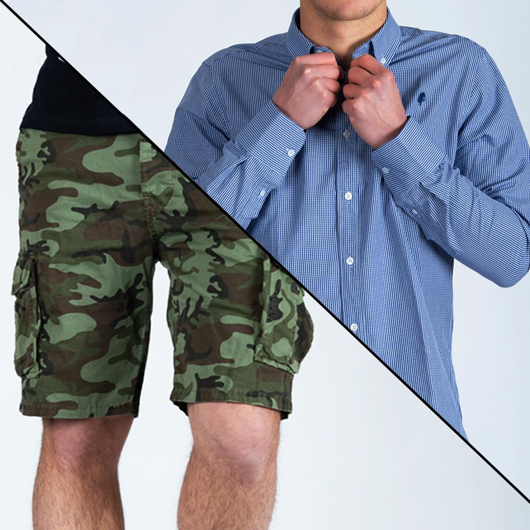 camicia itaca - bermuda itaca PIVERT